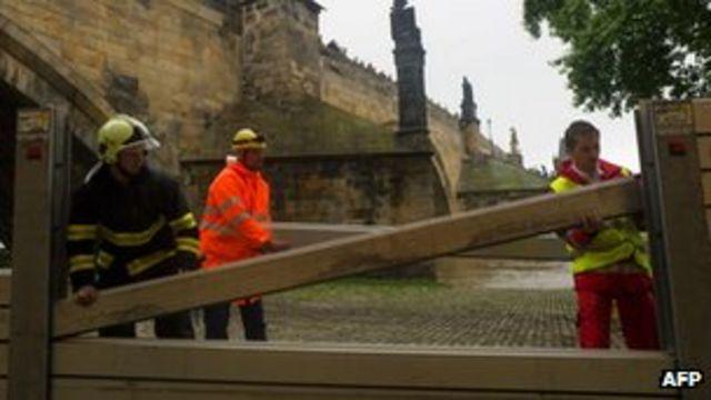 Central Europe on alert for flooding