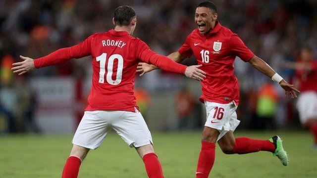Wayne Rooney and Alex Oxlade-Chamberlain