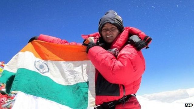 Arunima Sinha: Indian is first woman amputee to climb Everest