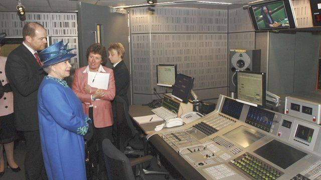 The Queen visits Broadcasting House
