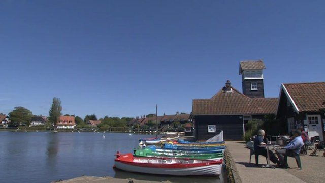 Thorpeness in Suffolk