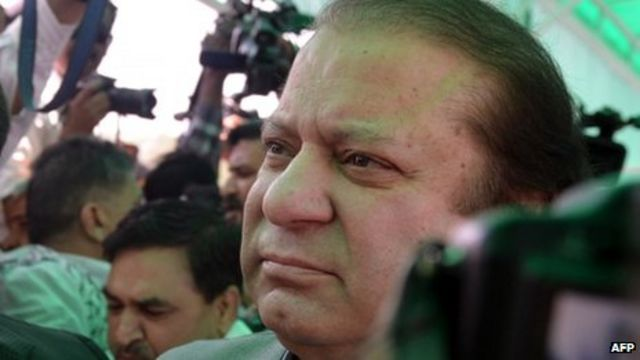 Pakistan's Nawaz Sharif approved as prime minister by MPs