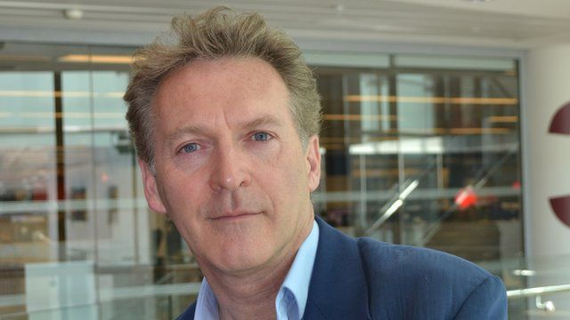 Robert Seatter, the BBC's head of history
