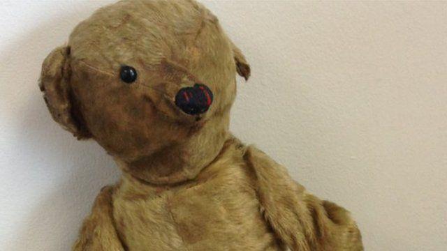 Teddy lost at Bristol Airport
