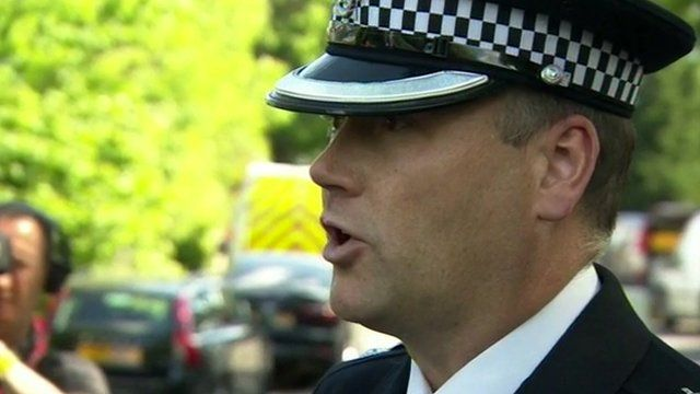 Chief Supt Adrian Usher, Borough Commander, Barnet Police