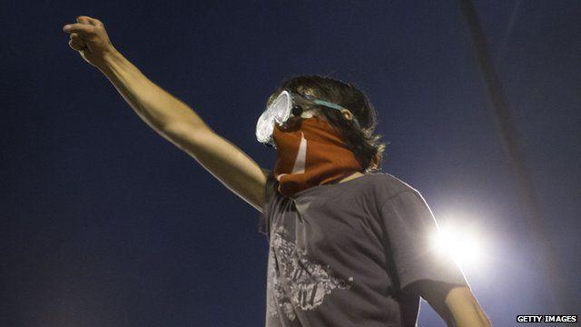 Protester in Turkey