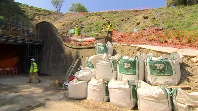 Repairs to Beaminster Tunnel in Dorset