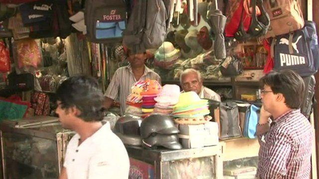 Delhi street market