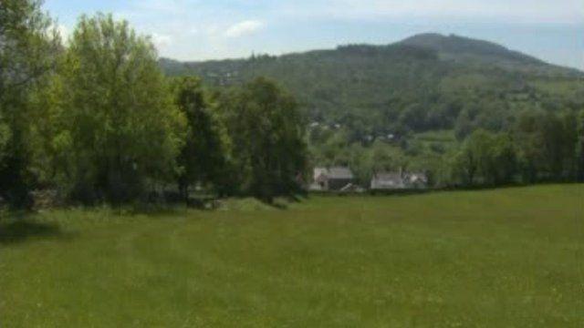 Tir ger Bethesda, Gwynedd
