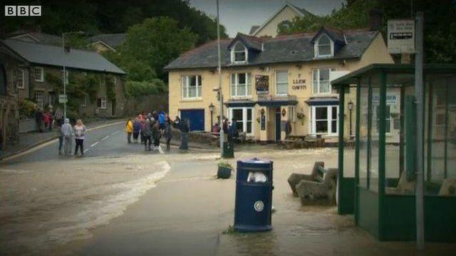 Flood flashback to a year ago
