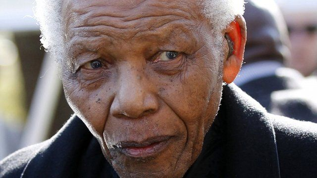 Nelson Mandela in June 2010