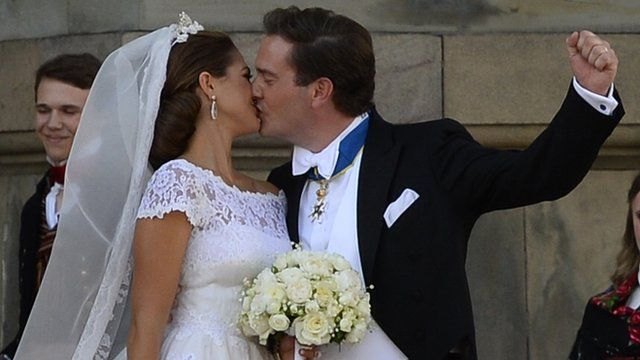 Princess Madeleine and Christopher O'Neill