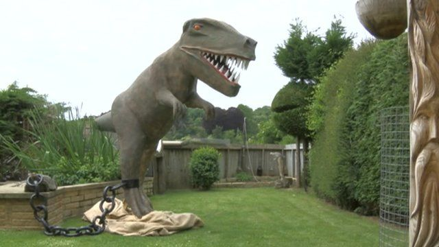 Raaarrr the dinosaur