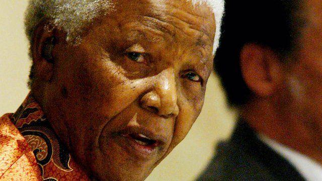Nelson Mandela announces his retirement