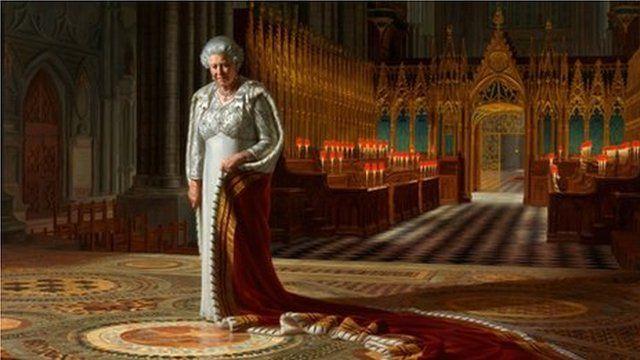 Ralph Heimans portrait of the Queen