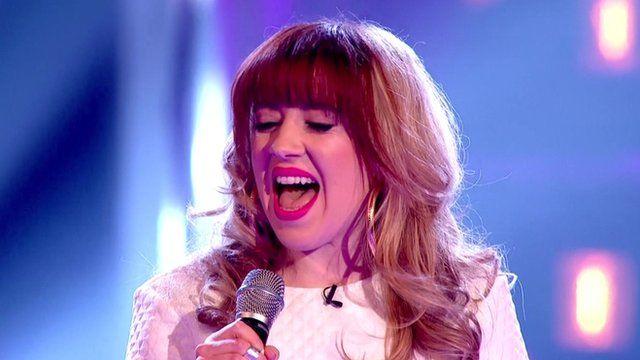 The Voice's Leah McFall