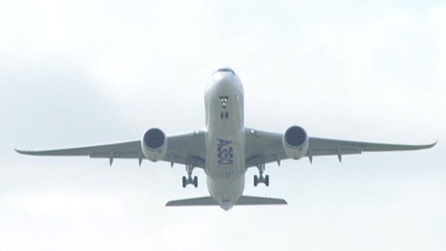 Airborne Airbus A350