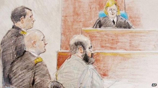 Judge rejects Fort Hood suspect Nidal Hasan's defence