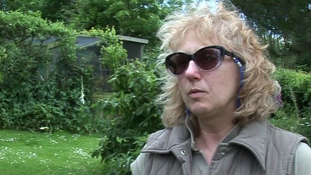 Helen Butler, president of the Red Squirrel Trust