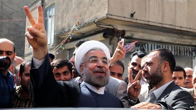 Hassan Rouhani on 14 June 2013