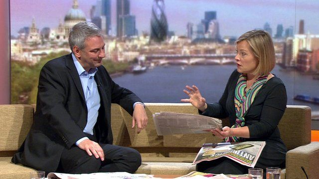 Kevin Maguire and Gillian Tett