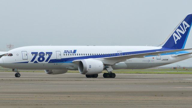One of ANA's Boeing 787 Dreamliners