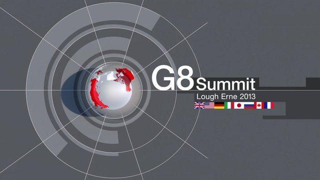 G8 Lough Erne 2013