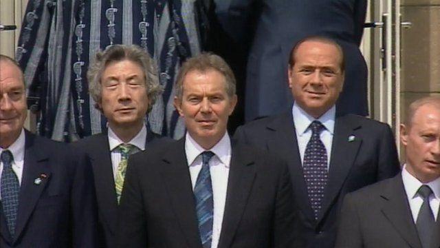 Tony Blair and word leaders