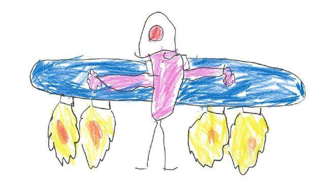 Amelia Regulski's design for a supersonic space suit