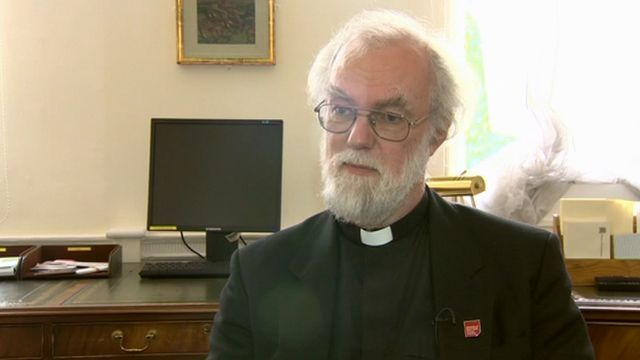 Lord Rowan Williams, the new chancellor of the University of South Wales