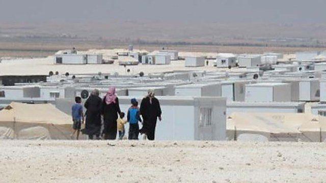 Zaatari refugee camp, Jordan
