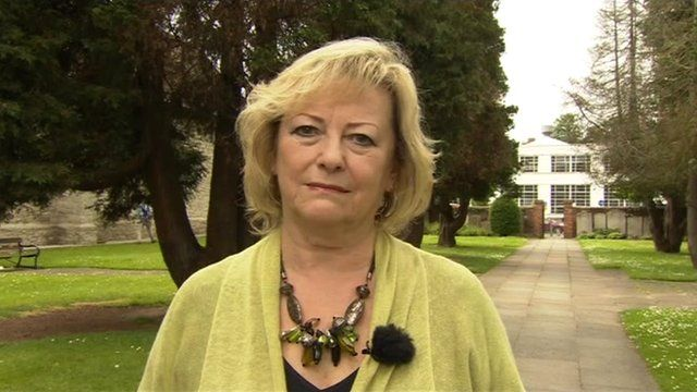 Kent Pcc Ann Barnes Will Support Chief Constable Bbc News