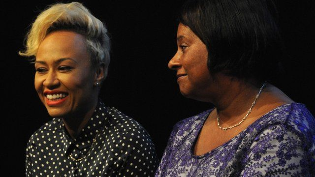 Emeli Sande and Doreen Lawrence