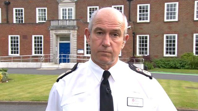 Chief Constable Ian Learmonth
