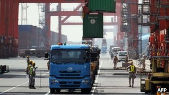 Japanese exports rise by most since 2010