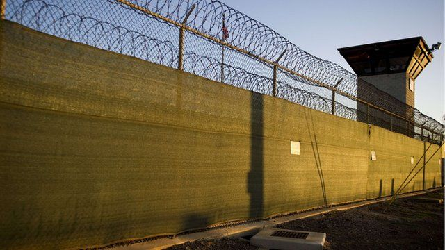 wall at Guantanamo Bay