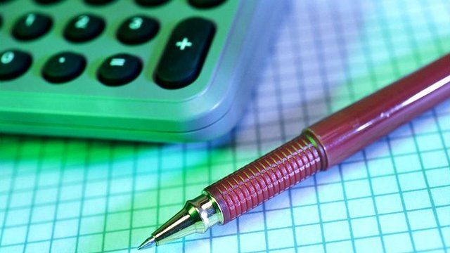 Pen, paper and calculator