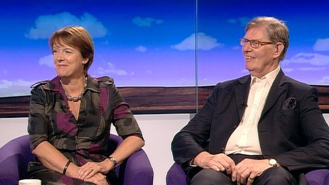 Caroline Spelman and Bill Cash