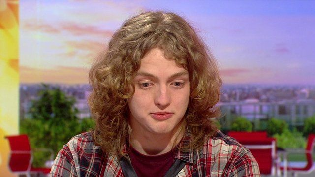 Max, a former homeless teenager