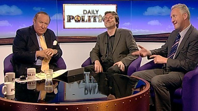 Andrew Neil, Dr David Clarke and Lembit Opik