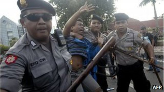 Indonesia fuel prices rocket by 44% sparking protests