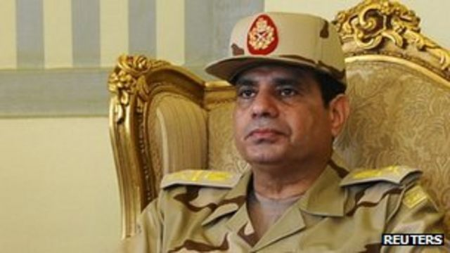 Egyptian army 'ready to intervene to stop conflict'