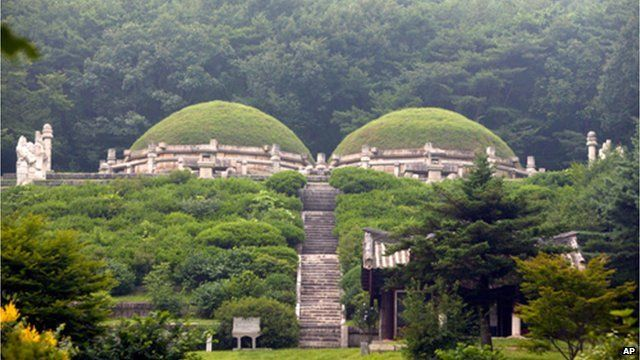Tomb in Kaesong