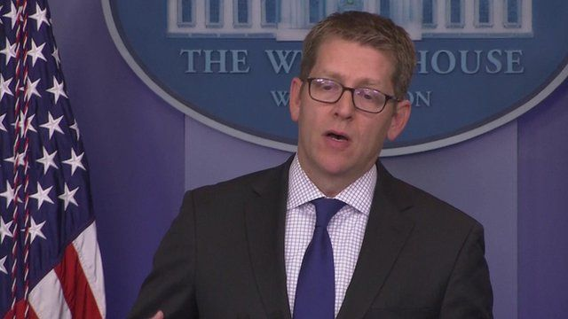 President Obama's spokesman, Jay Carney