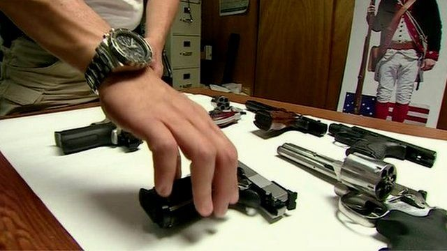 Smith & Wesson guns