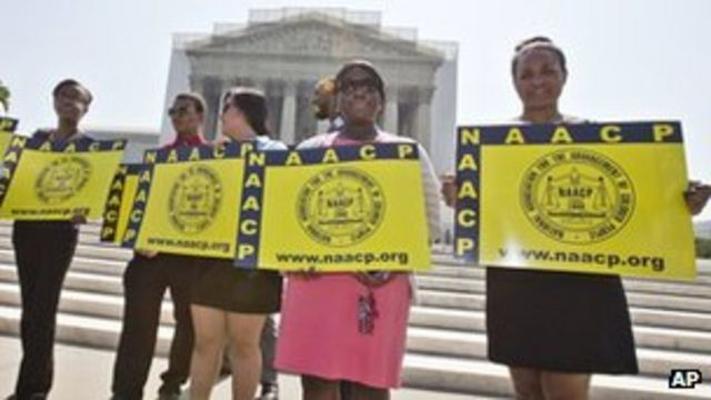 Voting Rights Act's core quashed by US Supreme Court