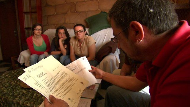 Family at risk of eviction