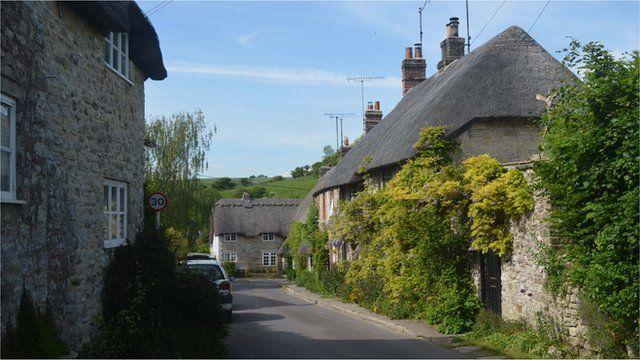 Osmington in Dorset