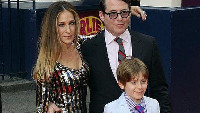 Sarah Jessica Parker, Matthew Broderick and son James