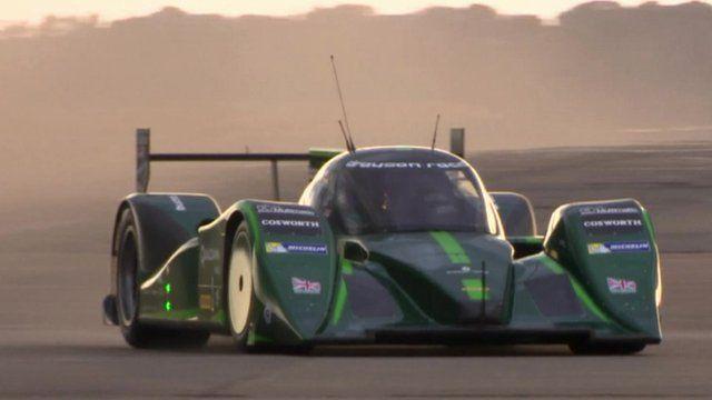 The Drayson Racing Technologies Lola B12 69/EV